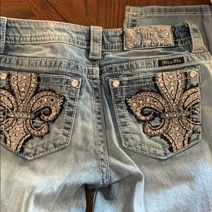 Miss me cropped jeans